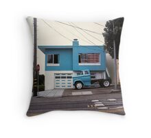 American Dream #8 Revisited Throw Pillow