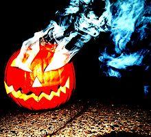 Smoke Bomb Pumpkin - White by Hallowaltz