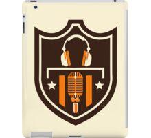 Kris Alan Apparel badge of honor iPad Case/Skin