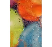 Oil Abstract Photographic Print