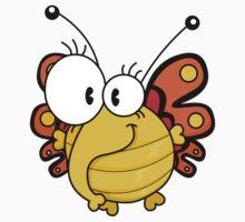 Cartoon butterfly Kids Tee