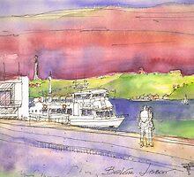 river cruises at sunset. by terezadelpilar~ art & architecture