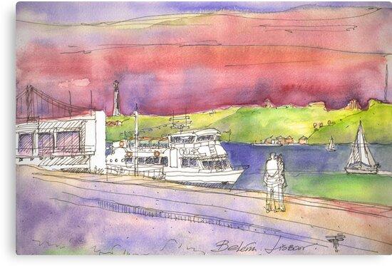 river cruises at sunset. by terezadelpilar ~ art & architecture