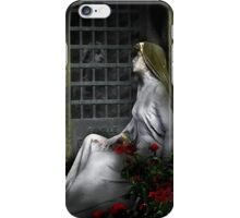 Red roses and moonlight iPhone Case/Skin