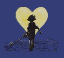Kingdom Hearts Sora Walking by Jeff Lee