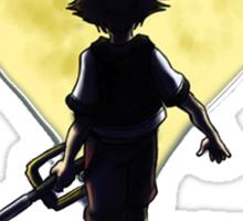 Kingdom Hearts Sora Walking Sticker