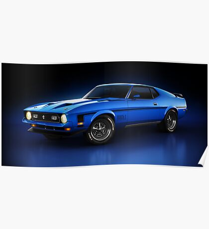 Ford Mustang Mach 1 - Slipstream Poster