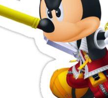 Kingdom Hearts Mickey Keyblade Colored Sticker