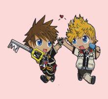 Sora And Company Kingdom Hearts Baby Tee