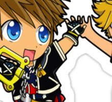Sora And Company Kingdom Hearts Sticker