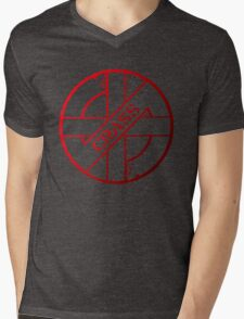 Retro Punk Restyling  Crass Mens V-Neck T-Shirt