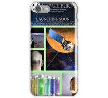 space burial iPhone Case/Skin