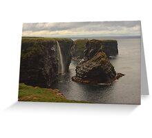 Sea Stacks At Kilkee Greeting Card