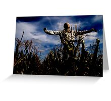 Scarecrow Fields Greeting Card