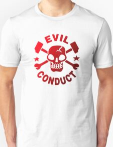 Retro Punk Restyling  Evil conduct T-Shirt
