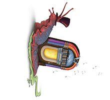 Jukebox Snail by Alex Boatman