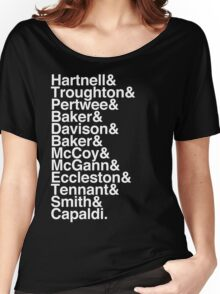 All Doctor - Hartnell to Capaldi, Without Hurt Women's Relaxed Fit T-Shirt
