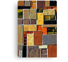 Tile Mix  Canvas Print