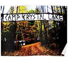 Camp Crystal Lake Poster