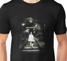 Walking Girl  Unisex T-Shirt