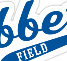 Ebbets Field Sticker