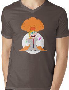 Science goes Boom! Mens V-Neck T-Shirt