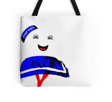 Marshmallow Man Tote Bag