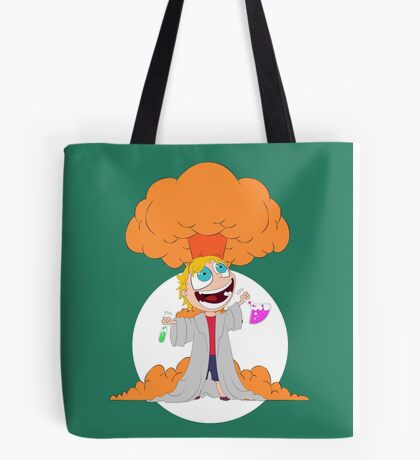 Science goes Boom! Tote Bag