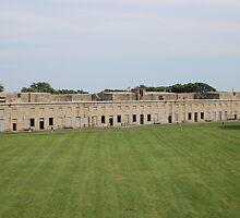 Fort Warren Boston Massachusetts  by CapeCodGiftShop