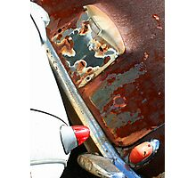 Rusty Rear Ends Photographic Print