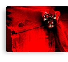 The Crimson Ghost Canvas Print