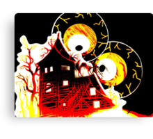Watching Your House Burn Canvas Print