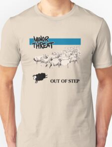 Retro Punk style Minor Threat sheeps  T-Shirt