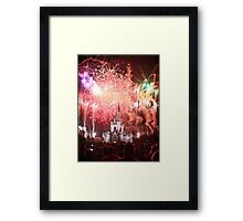 The Kingdom in Red Framed Print
