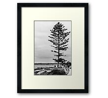 Cloudy Day In La Jolla Framed Print
