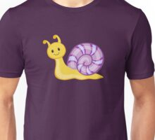 Cute cartoon snail Unisex T-Shirt