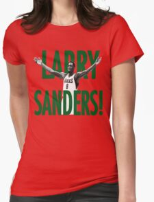 WHEN WILL THE LARRY SANDERS STOP!? Womens Fitted T-Shirt