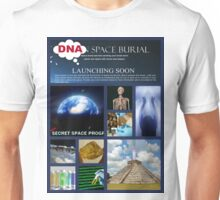 DNA space burial Unisex T-Shirt