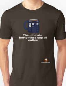 Ultimate Bottomless Coffee (Whovian Edition) T-Shirt