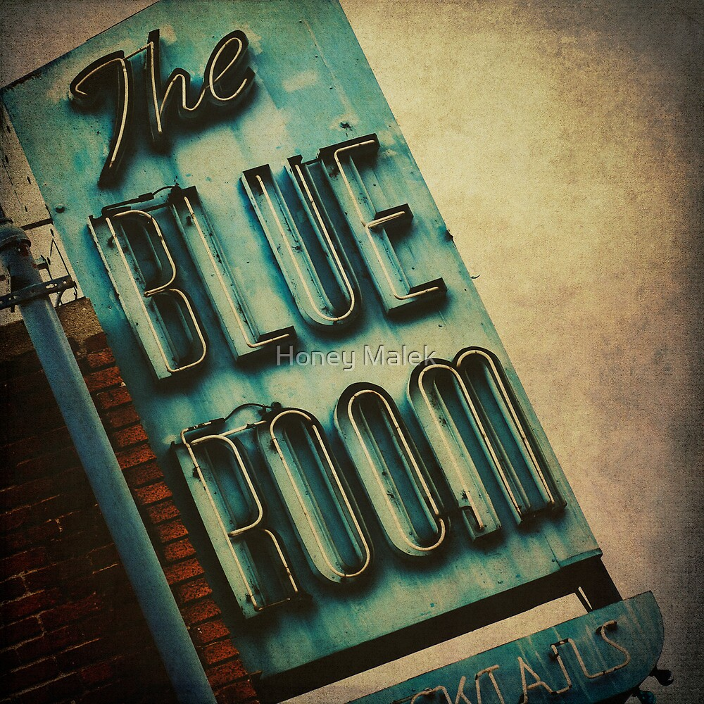 The Blue Room by Honey Malek