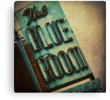The Blue Room Canvas Print