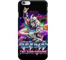 Shredd Live at the Technodrome iPhone Case/Skin