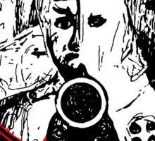 Retro Punk Restyling Millions of dead COPS Texas Sticker