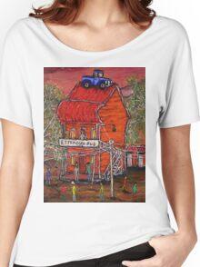 """Ettamogah Pub"" Australia Women's Relaxed Fit T-Shirt"