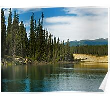 Yukon River Banks Poster