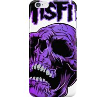 Retro Punk Restyling misfits iPhone Case/Skin