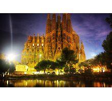Basilica de la Sagrada Familia  Photographic Print