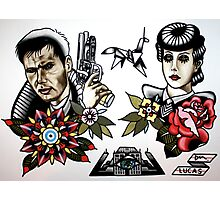 Blade Runner Tattoo Flash Photographic Print