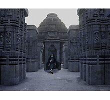 Itachi IRL uchiha temple Photographic Print