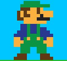 Luigi iPhone by themaddesigner